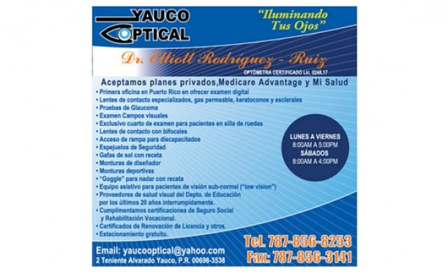 Yauco Optical, Inc.