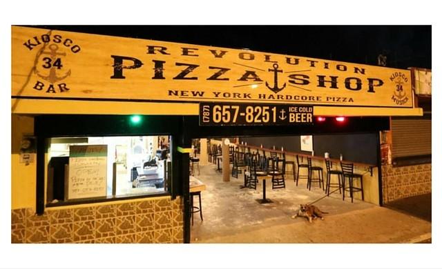 Revolution Pizza Shop