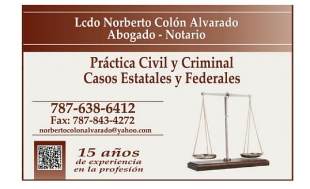 Lcdo. Norberto Colón Alvarado