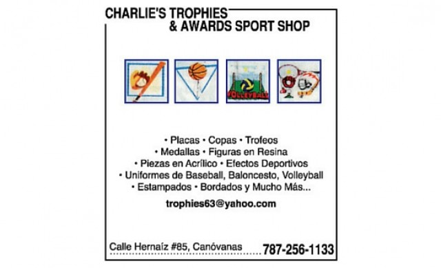 Charlies Trophies & Awards Sport Shop