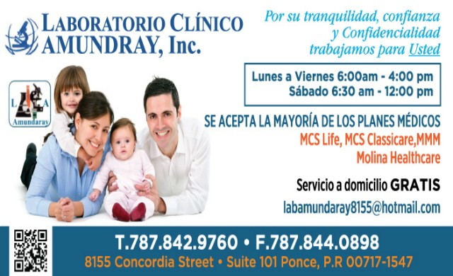 Laboratorio Clínico Amundaray Inc.