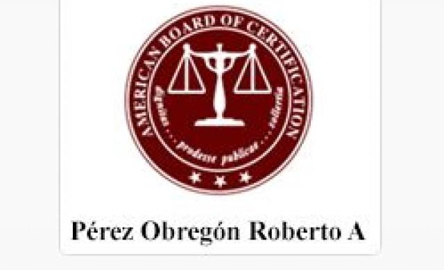 Lcdo. Roberto Perez Obregon