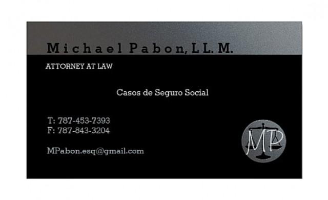 Lcdo. Michael J Pabon, LL.M.