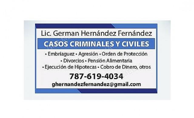 Lcdo. German Hernandez Fernandez