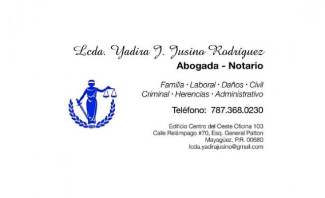 Lcda. Yadira J. Jusino Rodriguez