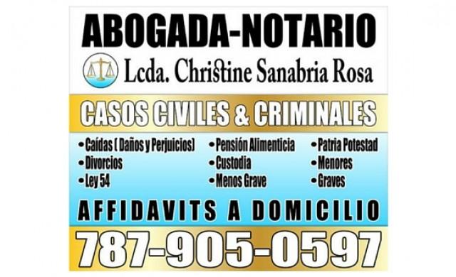 Lcda. Christine Sanabria Rosa