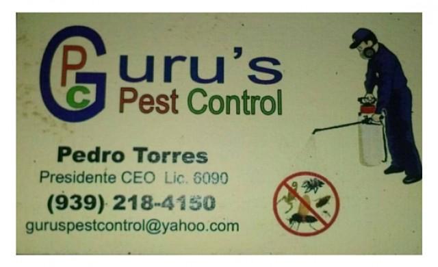 Guru's Pets Control