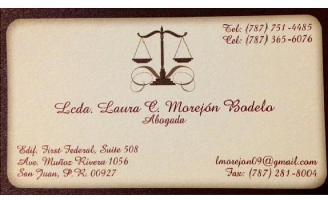 Lcda. Laura Morejon Boledo