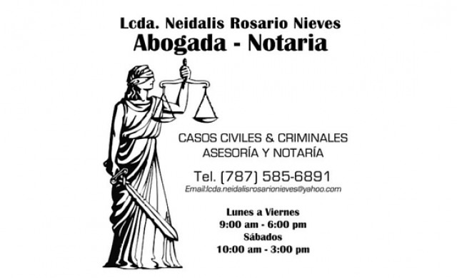 Lcda. Neidalis Rosario Nieves