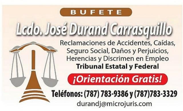 Bufete Lcdo. José Durand Carrasquillo