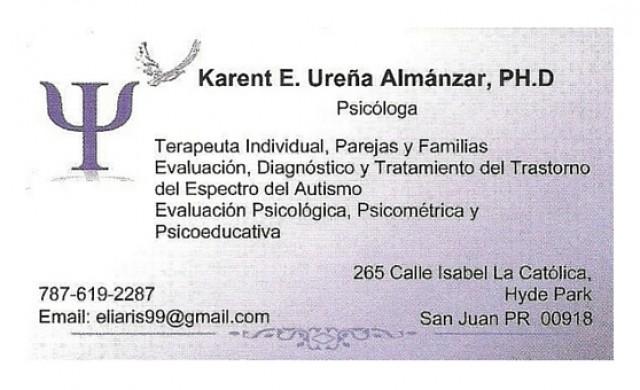 Karent E. Ureña Almánzar, PH. D