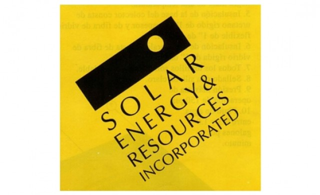 Solar Energy & Resources Incorporated