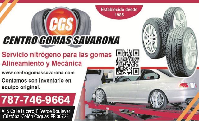 Centro Gomas Savarona