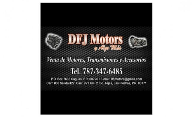 DFJ Motors y Algo Mas