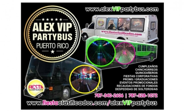Alex VIP Party Bus Puerto Rico