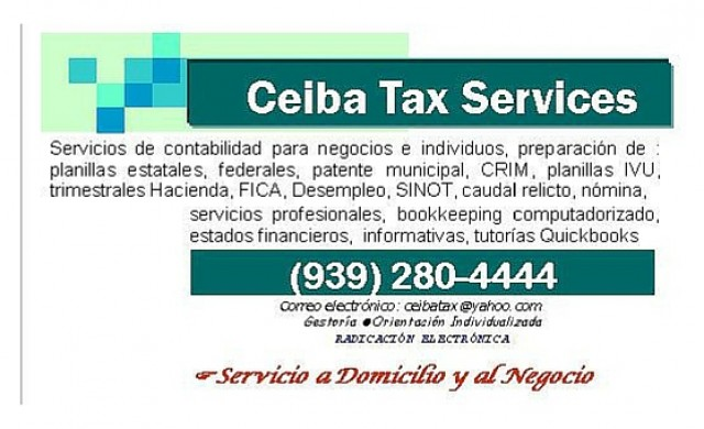 Ceiba Tax Services