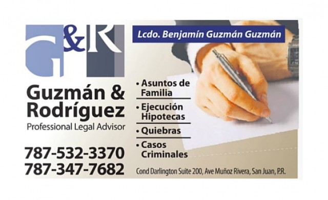 Guzmán & Rodríguez Professional Legal Advisor