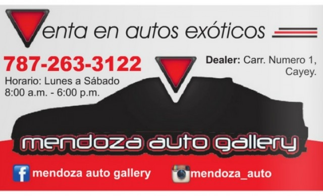 Mendoza Auto Gallery