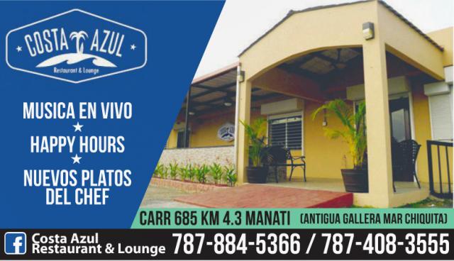 Costa Azul En Manati Directorio El Nuevo Dia