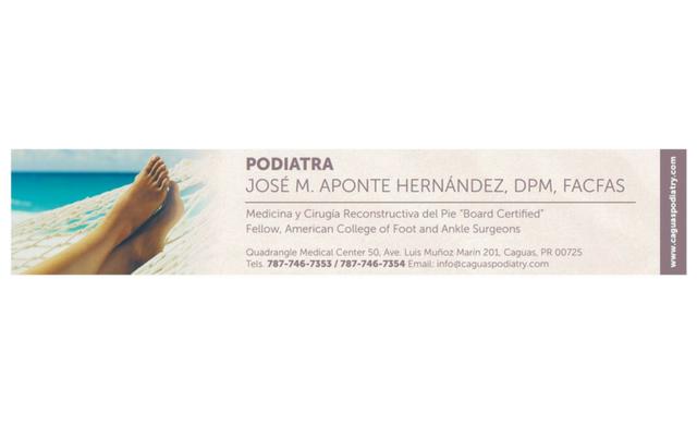 PODIATRA JOSÉ M. APONTE HERNÁNDEZ, DPM, FACFAS