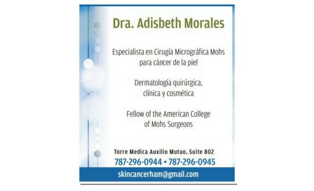 Dra. Adisbeth Morales Dermatología quirúrgica, clínica y cosmética