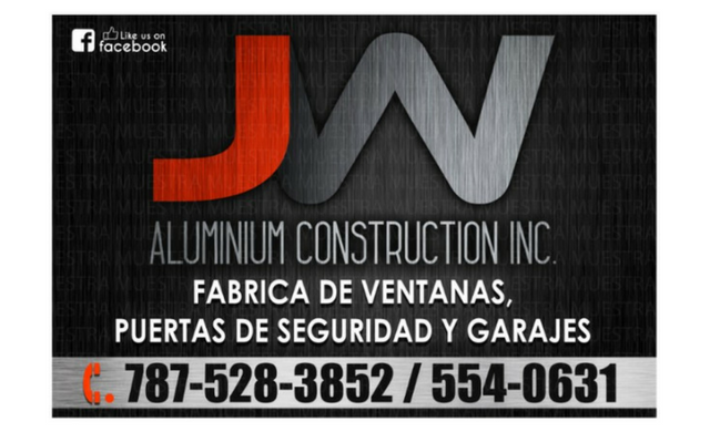 JW Aluminum Construction, Inc.