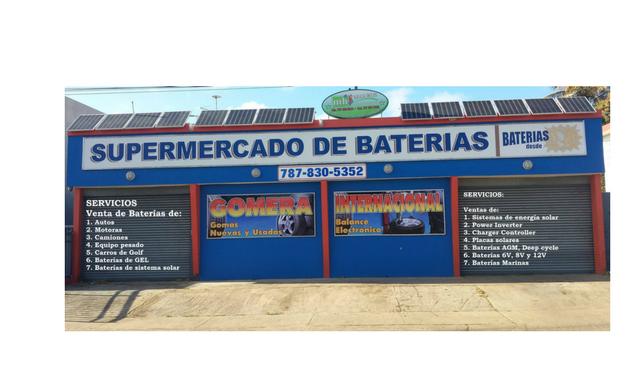 Supermercado de Baterías