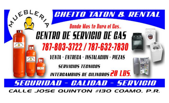 Mueblería Cheito Gas
