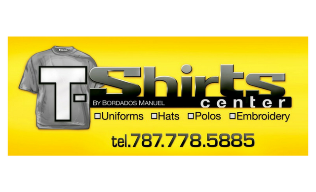 T-Shirts by Bordados Manuel