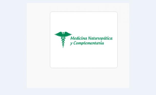 Medicina Naturopática y Complementaria