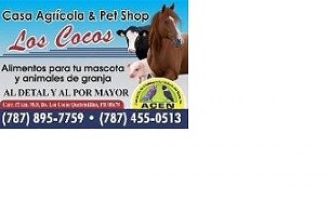Casa Agricola y Pet Shop los Cocos