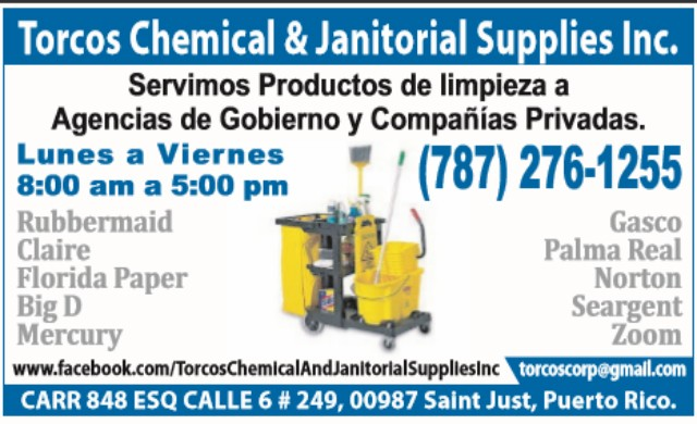 Torcos Chemical and Janitorial Supplies Inc.