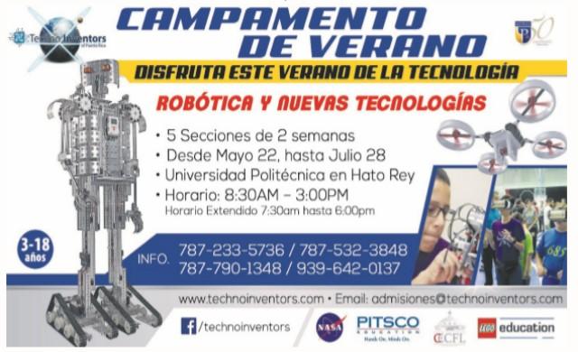 Techno Inventors Campamento de Verano