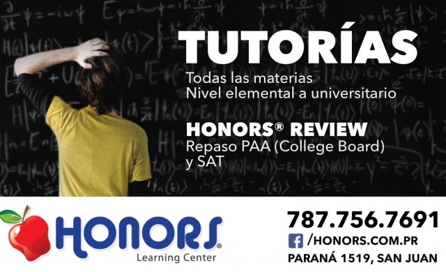 Honors Learning Center Tutorias-Clases de Verano