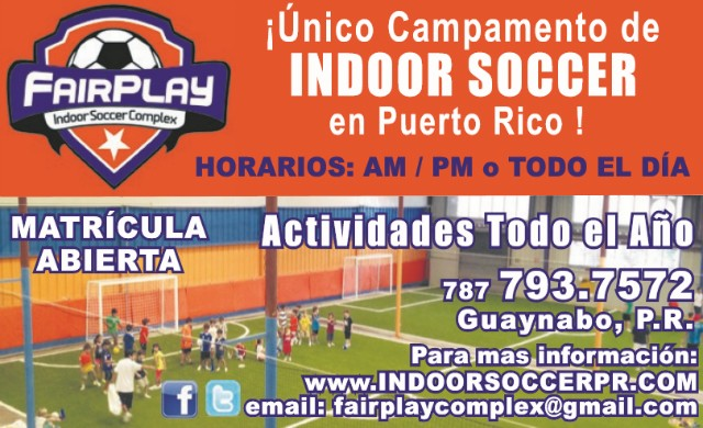 Fairplay Indoor Soccer Complex Campamento