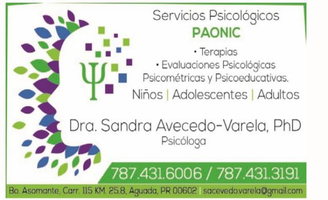 Dra. Sandra Avecedo-Varela, PhD