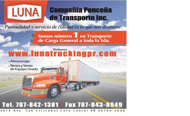 Compañía Ponceña de Transporte Inc. Luna Trucking